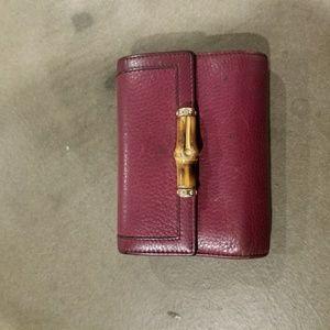 Gucci Bamboo Wallet